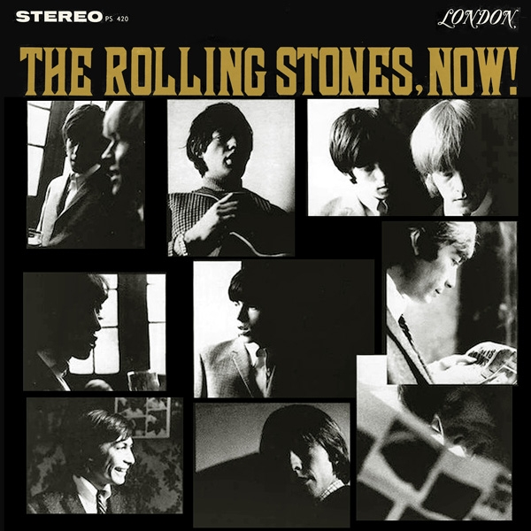 The Rolling Stones The Rolling Stones, Now! Cover Art