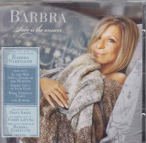 Barbra Streisand Love Is the Answer cover art