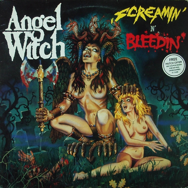 Angel Witch Screamin' 'n' Bleedin' cover art