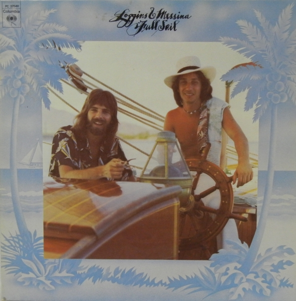 Loggins & Messina Full Sail cover art