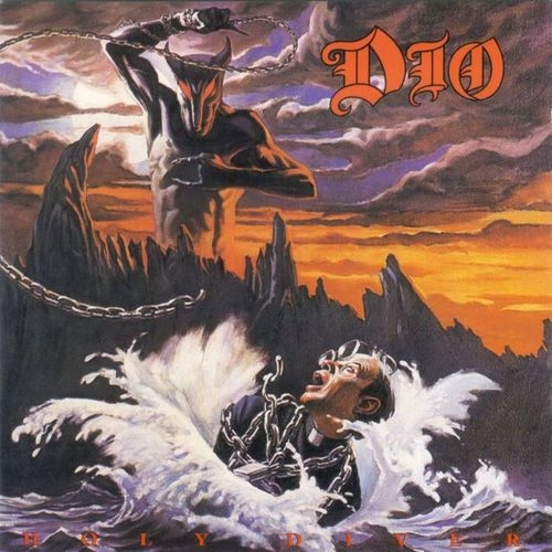 Dio Holy Diver Cover Art