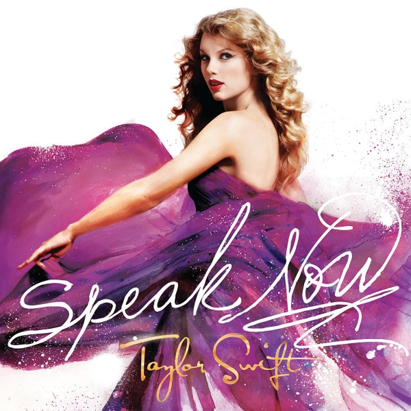 Taylor Swift Speak Now cover art