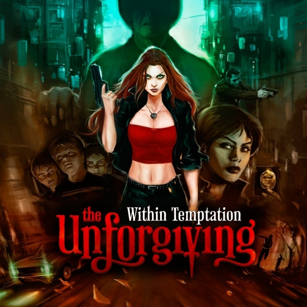Within Temptation The Unforgiving cover art