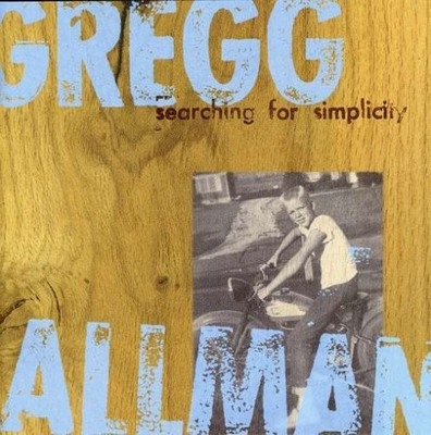 Gregg Allman Searching for Simplicity cover art