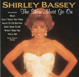 Shirley Bassey The Show Must Go On cover art