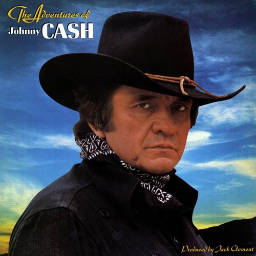 Johnny Cash The Adventures of Johnny Cash Cover Art