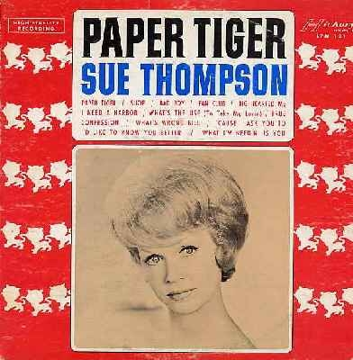 Sue Thompson Paper Tiger Cover Art