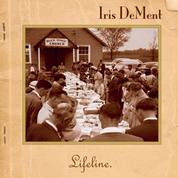Iris DeMent Lifeline cover art