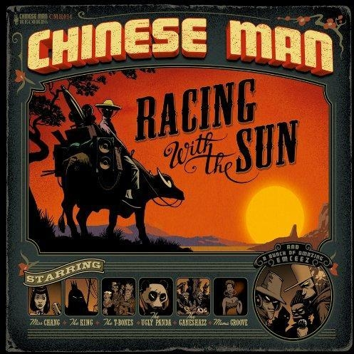 Chinese Man Racing With the Sun Cover Art