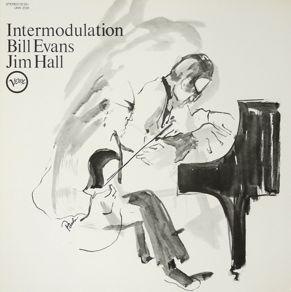 Bill Evans & Jim Hall Intermodulation Cover Art