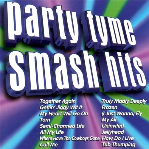 Sybersound Party Tyme: Smash Hits Cover Art
