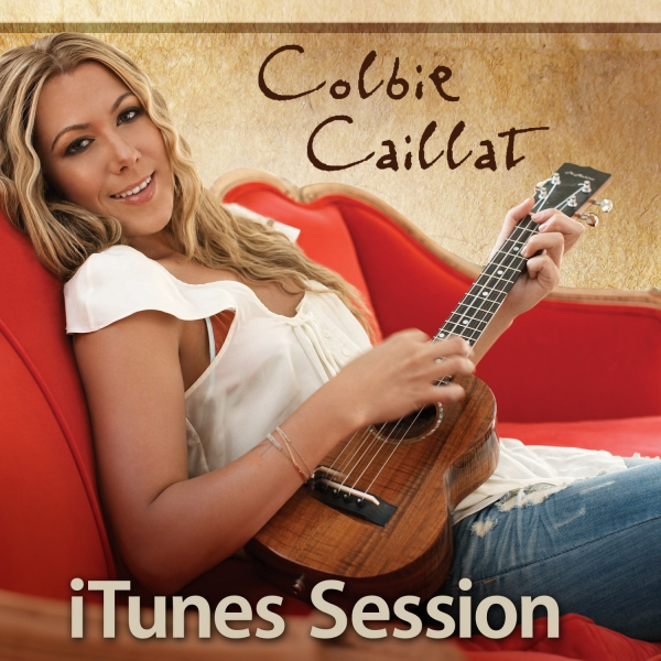 Colbie Caillat iTunes Session Cover Art