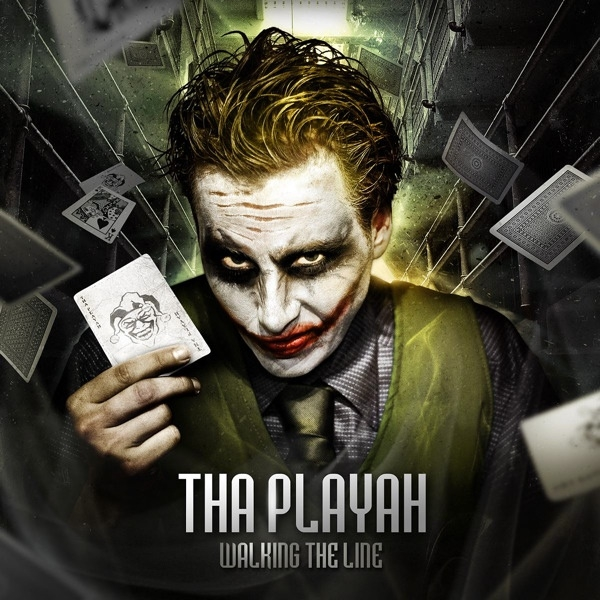 Tha Playah Walking the Line Cover Art