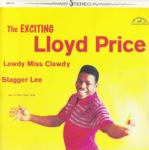 Lloyd Price The Exciting Lloyd Price Cover Art