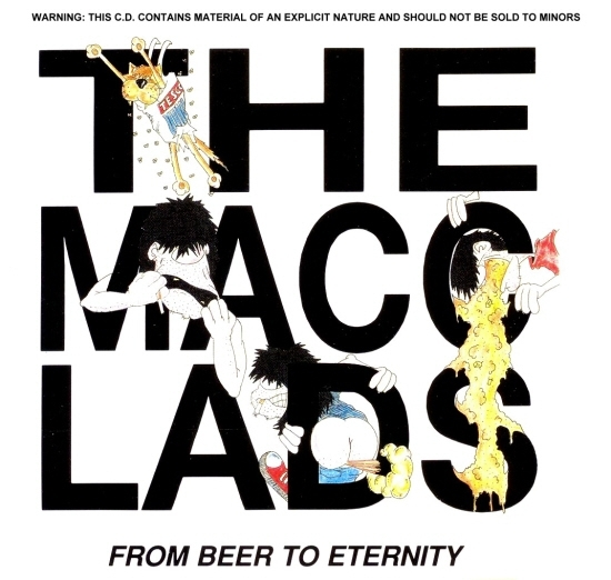 The Macc Lads From Beer to Eternity Cover Art