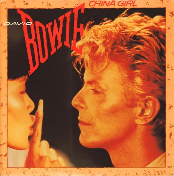 David Bowie China Girl Cover Art