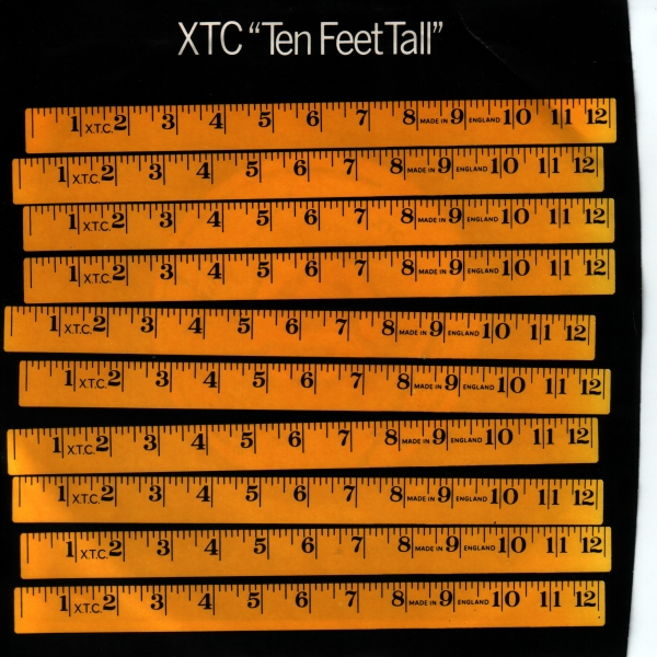 XTC Ten Feet Tall Cover Art