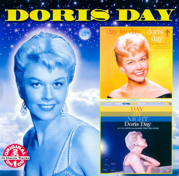Doris Day Day by Day / Day by Night Cover Art