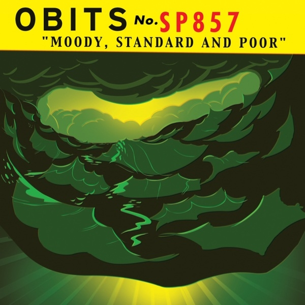 Obits Moody, Standard and Poor cover art