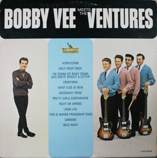 Bobby Vee meets The Ventures Bobby Vee Meets The Ventures Cover Art
