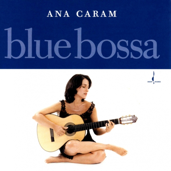 Ana Caram Blue Bossa Cover Art
