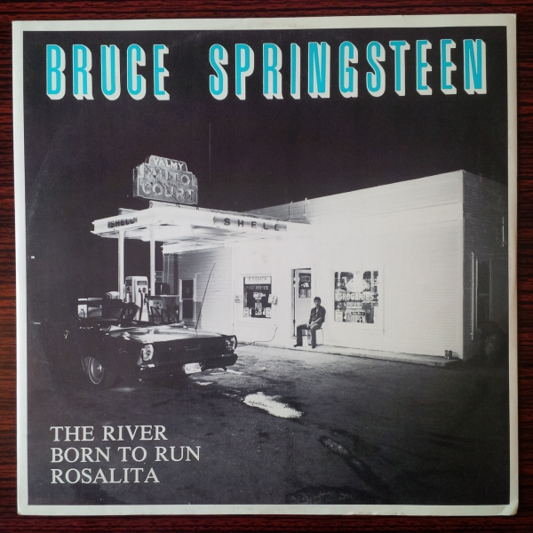 Bruce Springsteen The River Cover Art