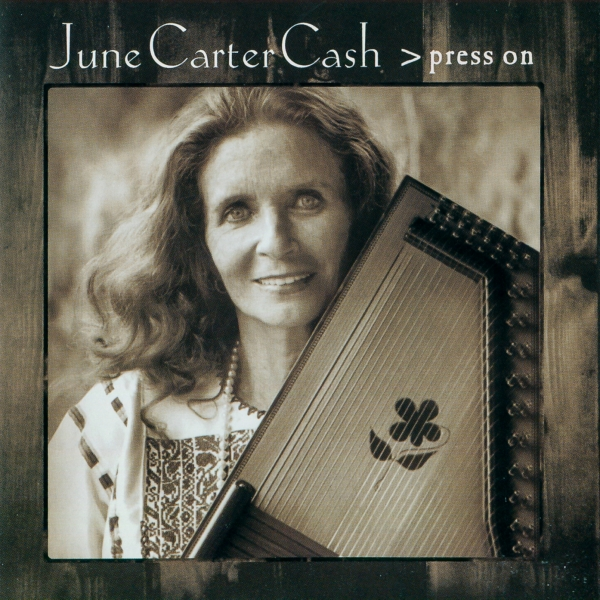 June Carter Cash Press On cover art