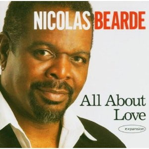 Nicolas Bearde All About Love Cover Art