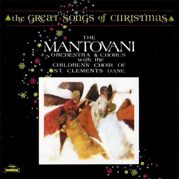 The Mantovani Orchestra Great Songs of Christmas Cover Art