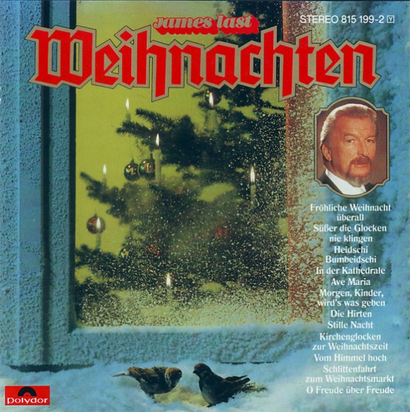 James Last Weihnachten cover art