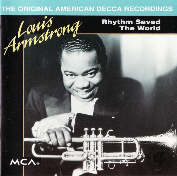 Louis Armstrong Rhythm Saved the World cover art