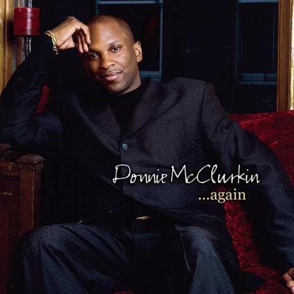Donnie McClurkin ... Again cover art