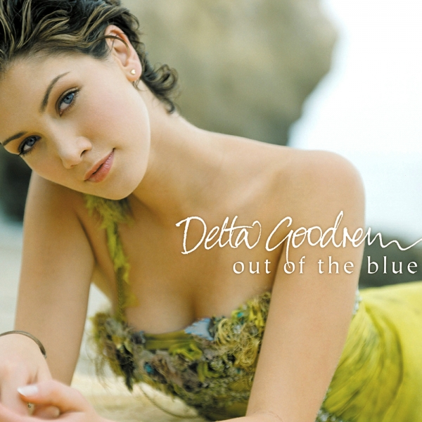 Delta Goodrem Out of the Blue Cover Art