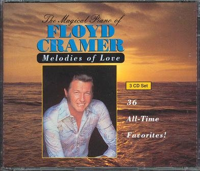 Floyd Cramer Melodies of Love, Volume 3 cover art