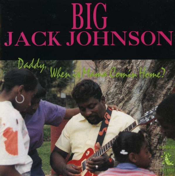 Big Jack Johnson Daddy, When Is Mama Coming Home? Cover Art