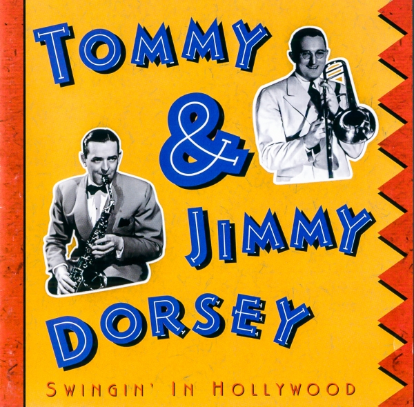 Jimmy Dorsey Swingin' In Hollywood cover art
