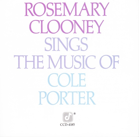 Rosemary Clooney Rosemary Clooney Sings the Music of Cole Porter cover art