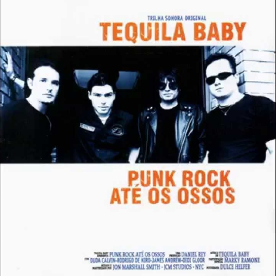 Tequila Baby Punk Rock Até Os Ossos cover art