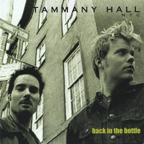 Tammany Hall NYC Back in the Bottle Cover Art
