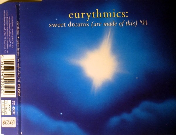 Eurythmics Sweet Dreams (Are Made of This) '91 Cover Art