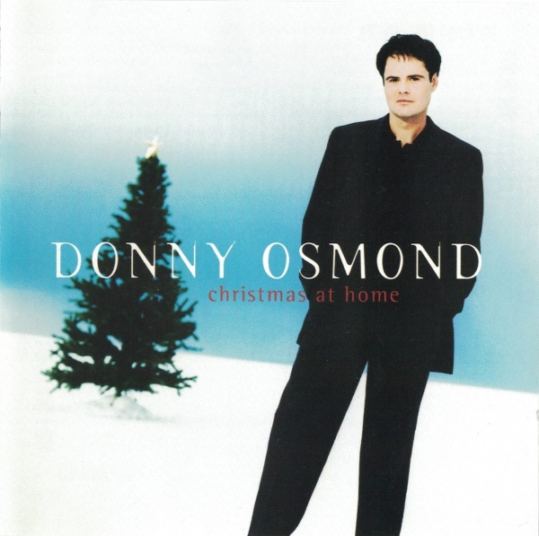 Donny Osmond Christmas at Home Cover Art