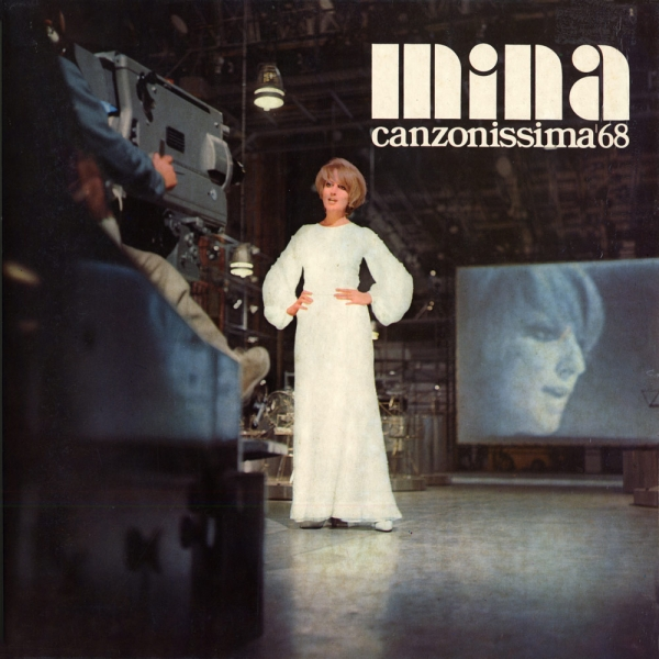 Mina Canzonissima '68 cover art