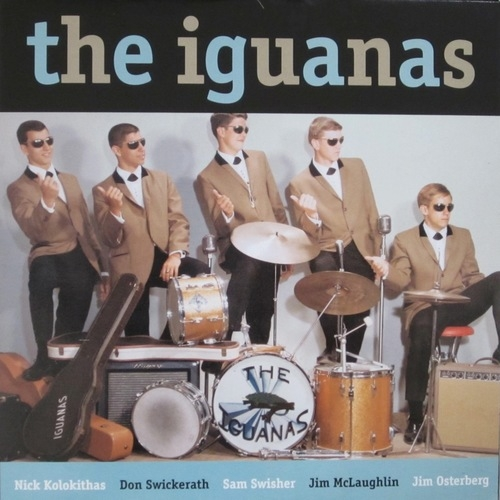 The Iguanas Jumpin' With... cover art
