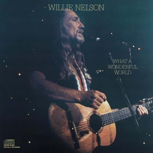 Willie Nelson What a Wonderful World cover art
