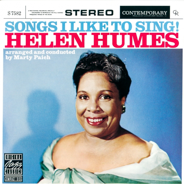 Helen Humes Songs I Like to Sing cover art