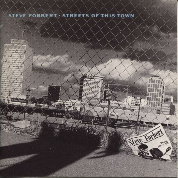 Steve Forbert Streets of This Town Cover Art