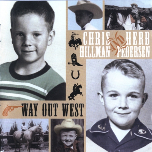 Herb Pedersen Way Out West cover art