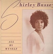 Shirley Bassey All by Myself cover art