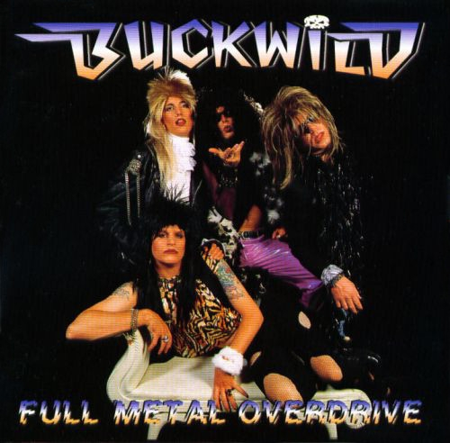 Buck Wild Full Metal Overdrive cover art