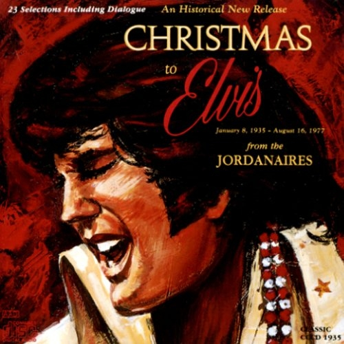 The Jordanaires Christmas to Elvis From the Jordanaires cover art